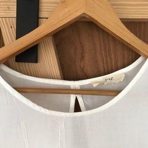 iris Tops - Iris Los Angeles Open Back Blouse 💫 White ⭐️ Med